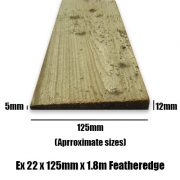 125mm feather 1.8m