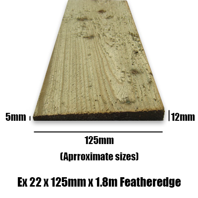 Feather Edge Board Featheredge Chiltern Timber