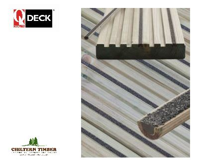 Softwood Decking Q Grip Strip Anti Slip Insert