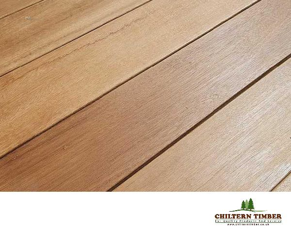 Yellow Hardwood Boards ~ Hardwood decking balau smooth
