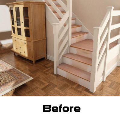 Oak Stair Klad Conversion System Biscuits Chiltern Timber