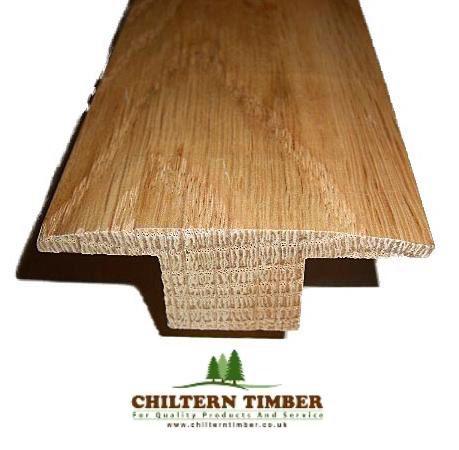 solid oak t bar threshold chiltern timber. Black Bedroom Furniture Sets. Home Design Ideas