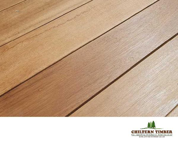 Hardwood decking balau smooth hardwood decking 21 x for Smooth hardwood decking boards