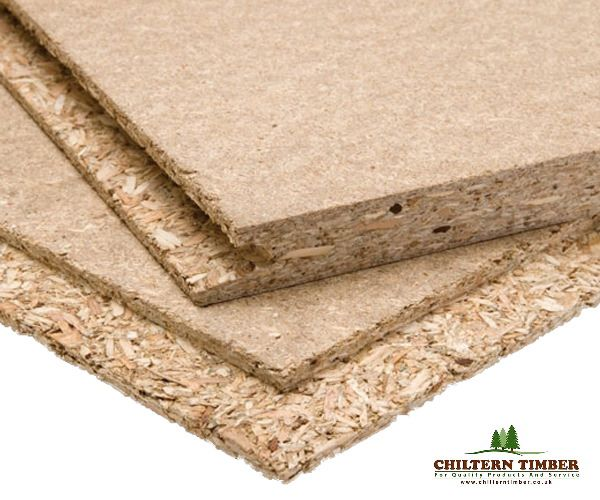 Chipboard p tongued grooved flooring