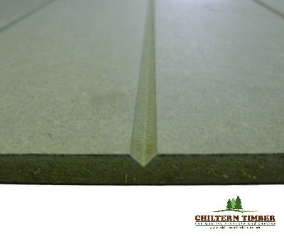 V Grooved Profile Mdf Long Groove 2440 X 1220 X 9mm