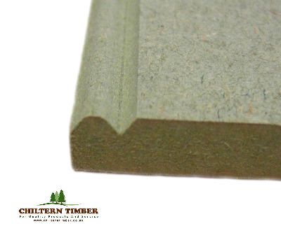 Tgv Amp Beaded Profiled Un Primed Mdf Long Groove Bead