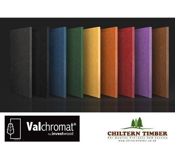 Valchromat Engineered Wood Fibreboard 2440 X 1220mm X 19mm