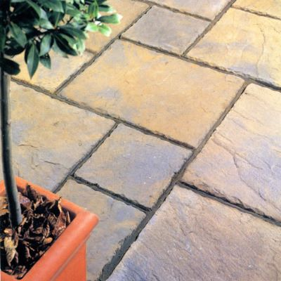 Stonecraft Rutland Paving Autumn Gold 7 2m2 Pack