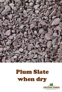 Bulk Bag Plum Slate Chippings Chiltern Timber