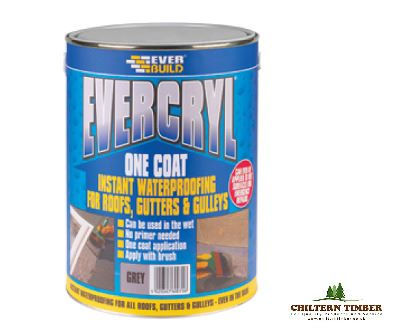 Evercryl Roof Repair Compound 5kg Chiltern Timber