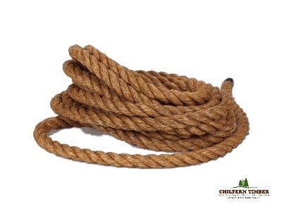 Decking Rope Grade 1 Manila Rope Per Metre Chiltern Timber