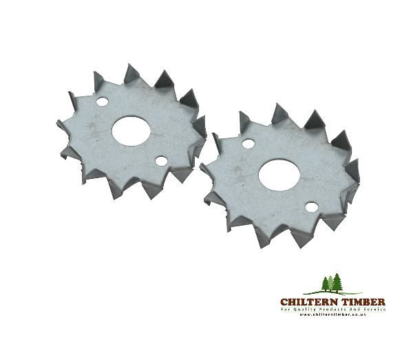 Timber Connector Double Sided M12 X 50mm Dog Tooth