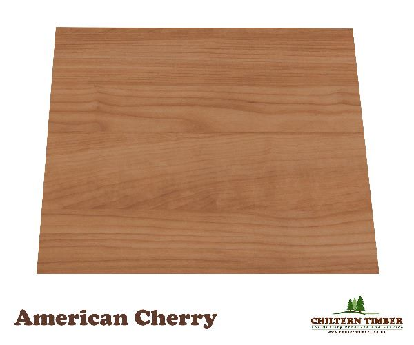 Plywood Decorative Veneer Flat Cut Cherry One Side