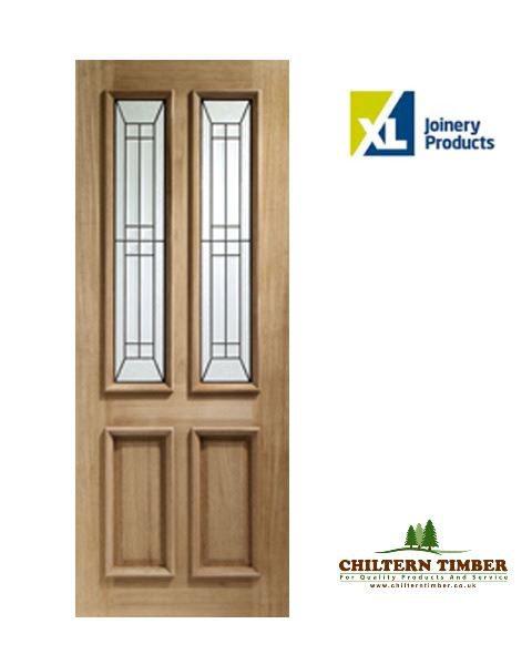 External door oak triple glazed malton diamond for Triple french doors for sale