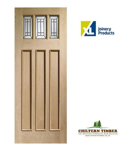 External door oak triple glazed balmoral jade chiltern for Triple french doors for sale