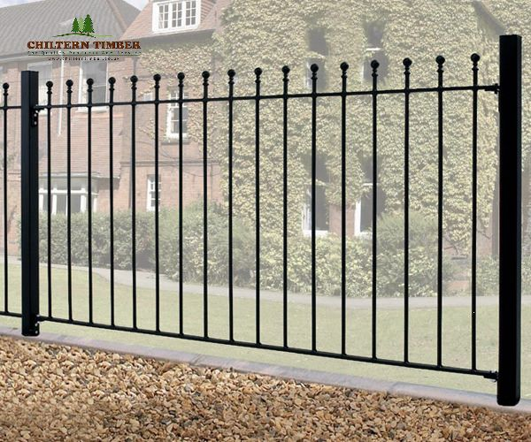 Manor Ball Top Fence Panel Chiltern Timber