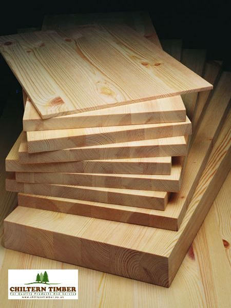 Laminated Pine Board 18 X 3000mm X Various Widths