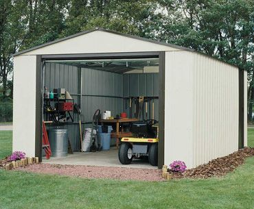 Metal Shed Murry Hill Garage 12 X 31 Memh1231 Chiltern