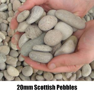 20mm scottish pebbles