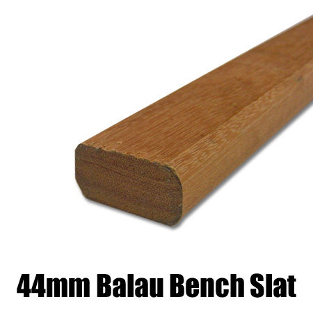 44mm bench balau slat