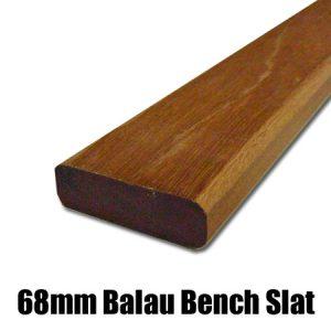 68mm balau bench slat