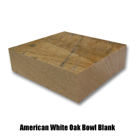 AW Oak Bowl Blank