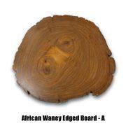 African Waney Board A reverse