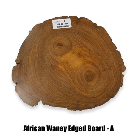 African waney board A