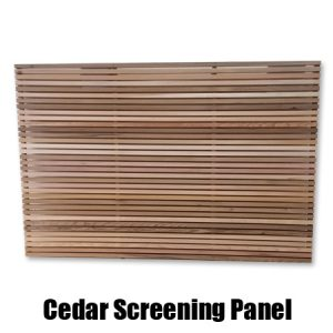 Cedar Screening Panel