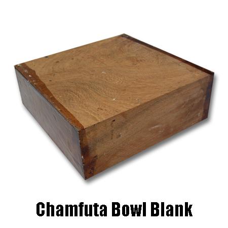 Chamfuta bowl blank