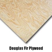 Douglas Fir Plywood Top view