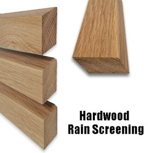 Hardwood Rain Screening