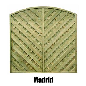 Madrid Fence Panel