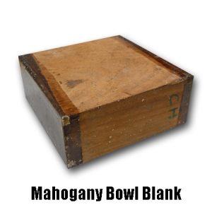 Mahogany Bowl Blank