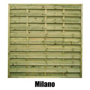 Milano Fence Panel