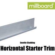 Millboard Envello Cladding Horizontal Starter Trim