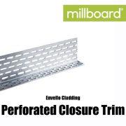 Millboard Envello Cladding Perforated Closure Trim