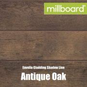 Millboard Envello Cladding Shadow Line Antique Oak