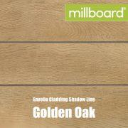 Millboard Envello Cladding Shadow Line Golden Oak