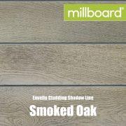 Millboard Envello Cladding Shadow Line Smoked Oak
