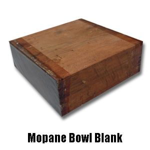 Mopane Bowl Blank