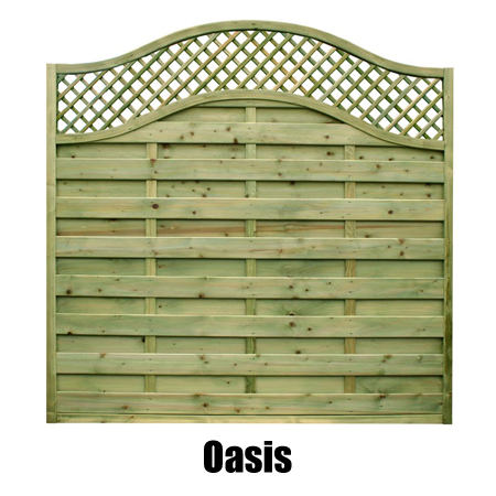 Oasis Fence Panel