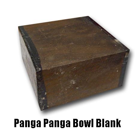 Panga Panga Bowl Blank
