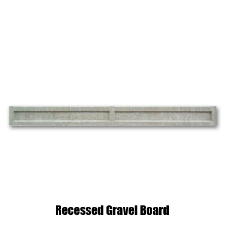 Recessed Gravel Board