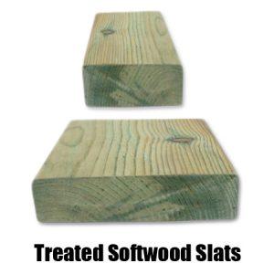 Treated Softwood Slats