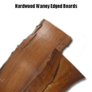 Hardwood Waney Edged Boards