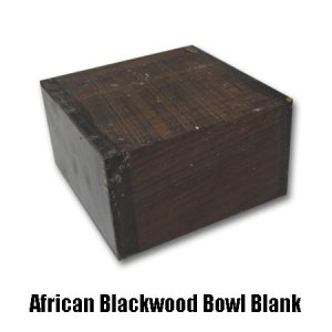 african blackwood bowl blank