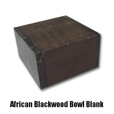 african blackwood bowl blank