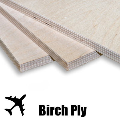 Plywood Aircraft Birch Plywood Grade 1525 X 1525 X 1 5mm