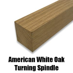 aw oak turning spindle